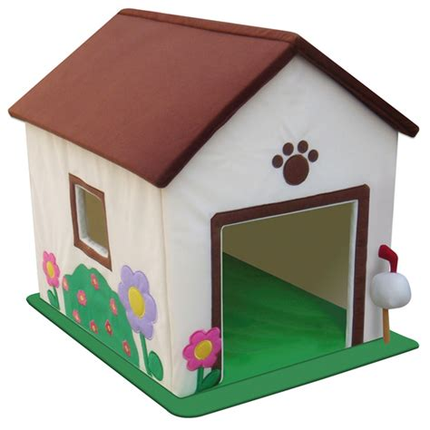 where can i buy dog houses pawprint plush dog house baxterboo