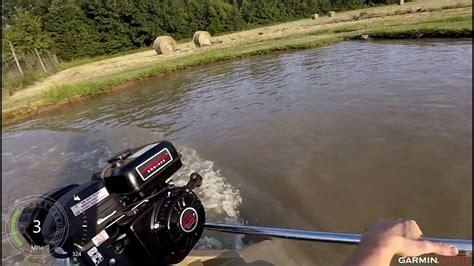 beavertail attack boat beavertail final attack 6 5hp predator engine youtube