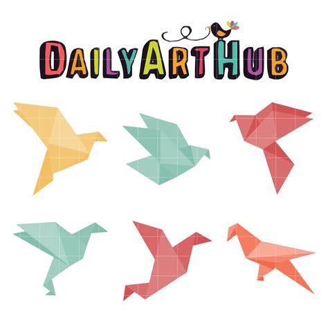 Simple Bird Origami - simple bird origami clip set daily hub free
