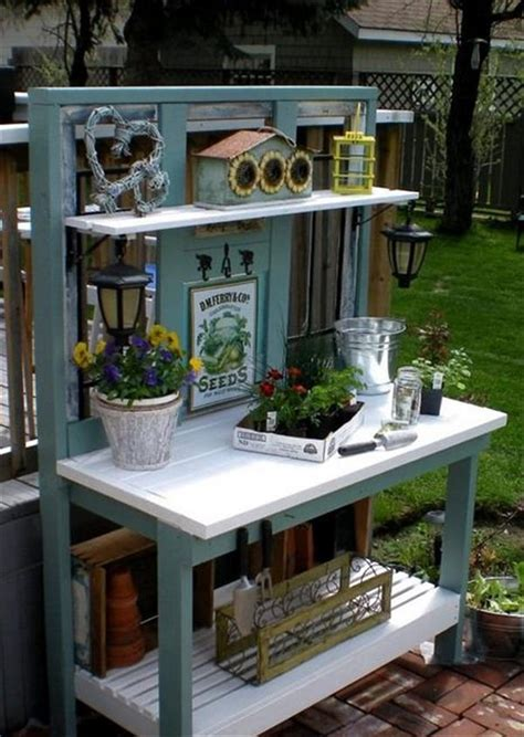 plans for a potting bench pallet wood potting bench plans recycled things