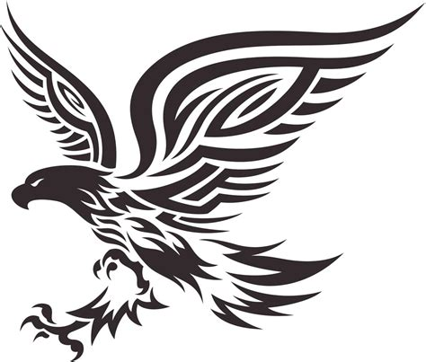 tribal bald eagle tattoos small designs for