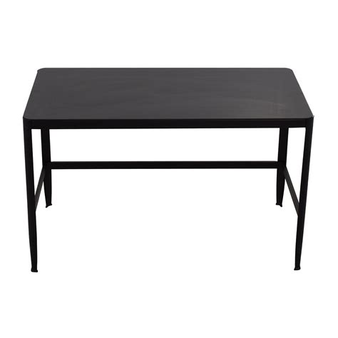 modern black computer desk glass top home office desk amazoncom best choice products