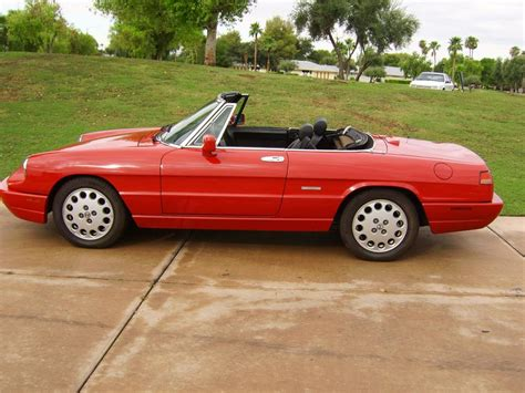 free auto repair manuals 1993 alfa romeo spider engine control service manual 1993 alfa romeo spider repair line from a the transmission to the radiator