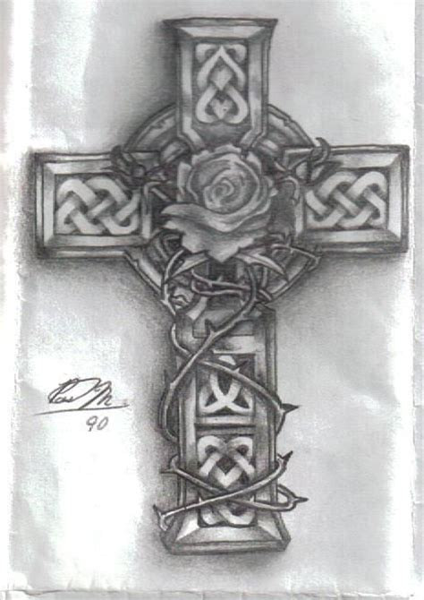 celtic rose tattoo designs vine tattoos celtic crosses and photos on