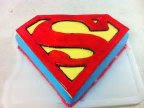 Superman Template For Cake superman of steel cake how to