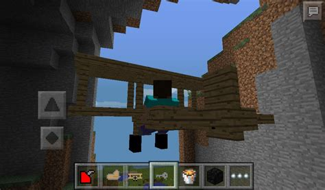 mod in minecraft pe plane mod v1 alpha for minecraft pe 0 9 5