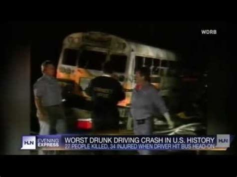 worst drunk driving crash in u.s. history youtube