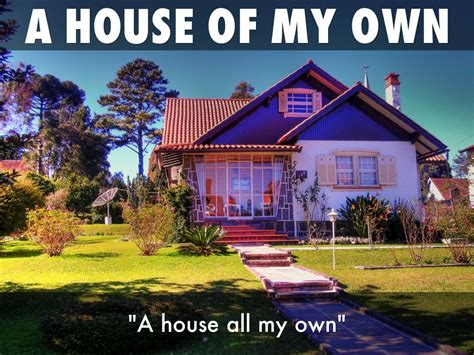 My Own House | my own house architectural designs