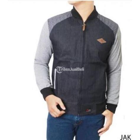 Jaket Kombinasi Fleace jaket pria new kombinasi fleace dongker lengkap