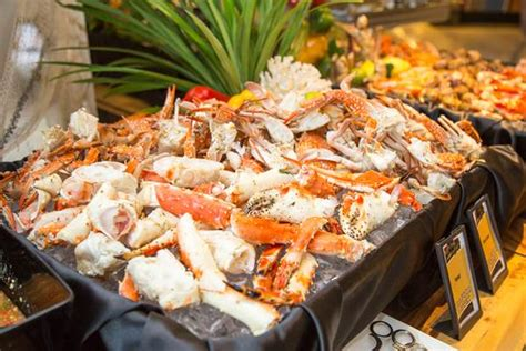 Seafood Buffet Eat Drink Doubletree By Hilton One Seafood Buffet Price