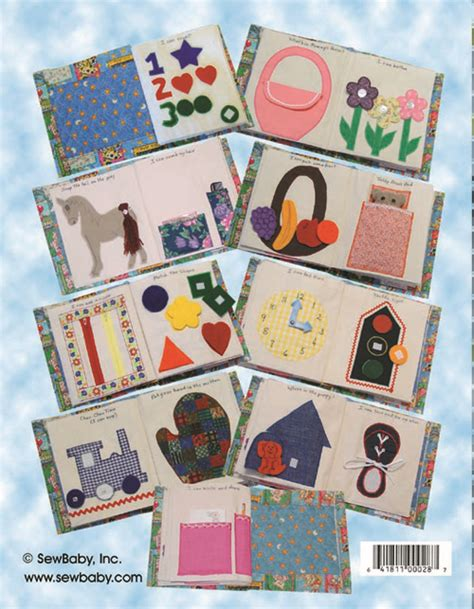 pattern fabric book sew baby i can do it activity book e pattern