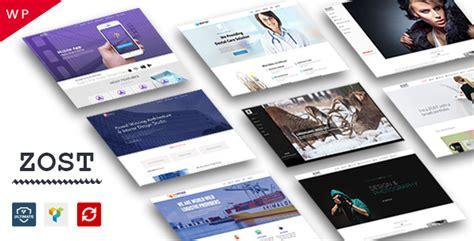 zost theme portfolio agency multipurpose v 1