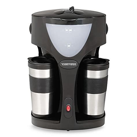 coffee makers at bed bath and beyond buy toastess 174 twin coffee maker from bed bath beyond