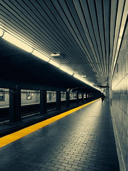 Perspecitve In A Tornoto Subway Station perspective toronto and new on