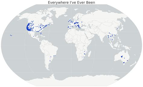 Map Of Boeing Locations Map by Mapping Everywhere Ive Ever Been In My Life Geoff Boeing