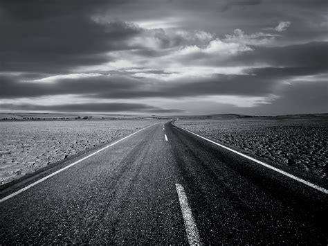 wallpaper black road open road wallpaper black and white wallpaper area hd