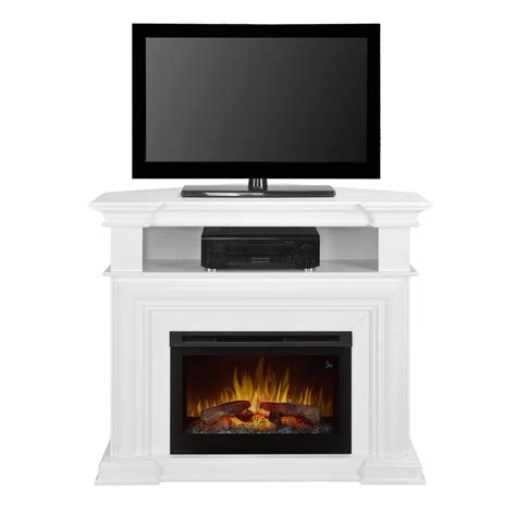 Corner Electric Fireplace 48 25 Quot Colleen Wall Or Corner Electric Fireplace Media Console Dfp25l5 1537w