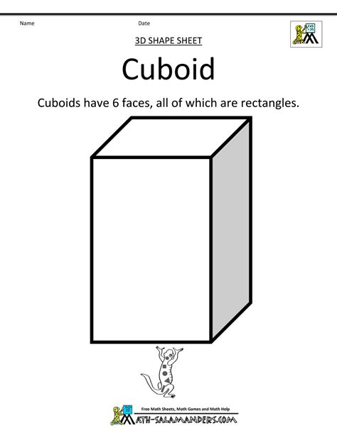 How To Make A 3d Cuboid Out Of Paper - 3 d shapes