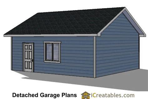 2 Door Garage Plans by 22x22 2 Car 2 Door Detached Garage Plans