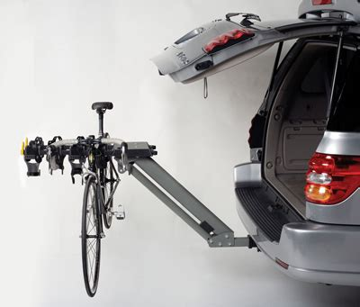 Bike Racks For Suv Without Hitch by Trailer Hitch Mounted Motorcycle Carrier Rack Hauler