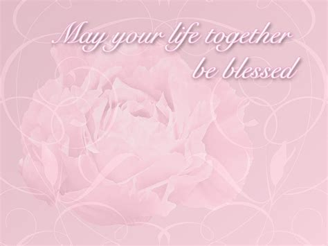Wedding Blessing Nature by Wedding Blessings Greeting Card Pink Peony Photograph By