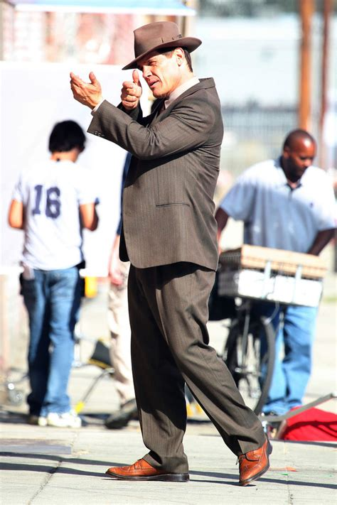 Film Gangster Los Angeles | josh brolin films gangster squad in los angeles zimbio