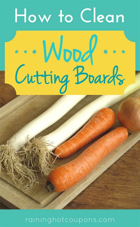 how to clean woodwork how to clean wood cutting boards