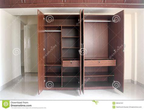 Room Cupboard Stylish Modern Empty Cupboard In A Room Of A Newly Built