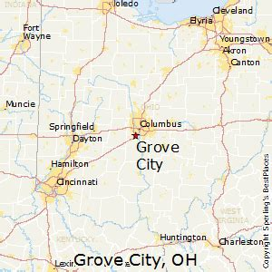 Grove City Ohio Map by Best Places To Live In Grove City Ohio