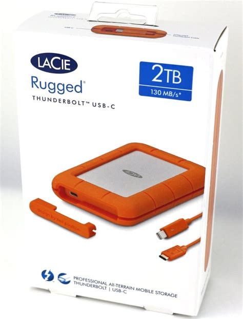 2tb rugged rugged thunderbolt usb c 2tb portable hdd review eteknix