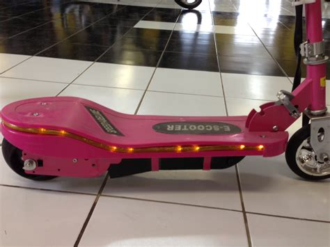 Lu Led Motor X Ride speed1 deluxe electric push scooter electric ride