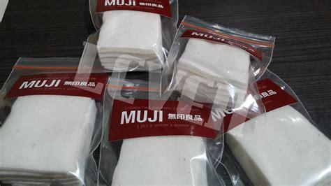 Kapas Muji Cotton Ecru 1 Pad jual muji organic japanese cotton kapas organik jepang