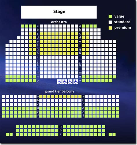the broad stage seating chart virginia rep november theatre seating chart