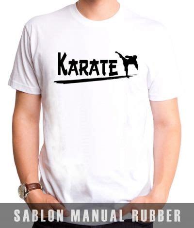 Kaos Lengan Panjang Karate Kyokushin kaos sablon karate 1 kaos premium