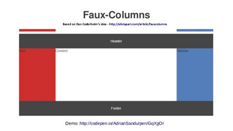holy grail layout with flexbox the crusade for the holy grail layout dublinjs lightning