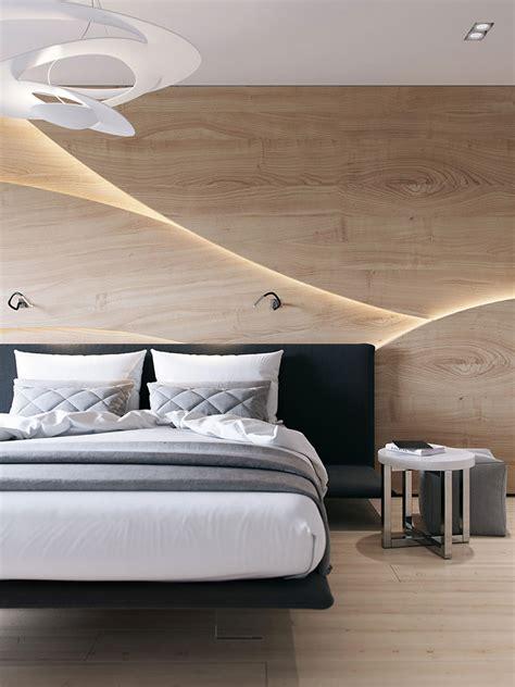 da letto parete pareti in legno per la da letto 30 idee dal design