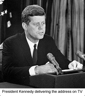 the history place great speeches collection: jfk on the