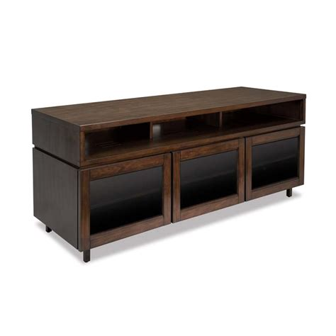 bello contemporary solid wood and glass 70 inch tv cabinet
