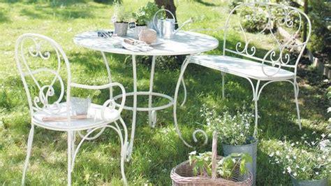 meuble jardin metal salon de jardin metal romantique qaland