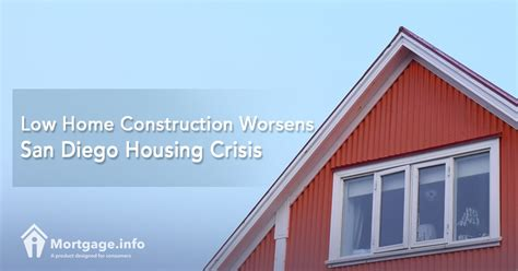 san diego housing low home construction worsens san diego housing crisis mortgage info