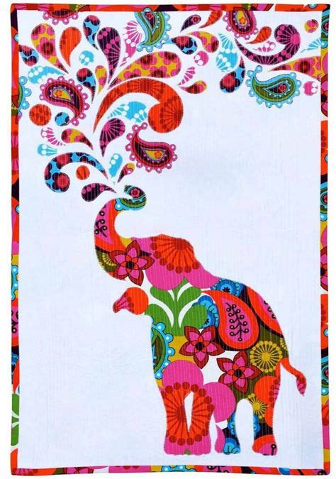 Patchwork Applique Patterns Free - free pattern paisley splash elephant quilt by myiesha