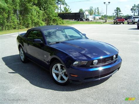 2010 mustang colors 2010 kona blue metallic ford mustang gt convertible