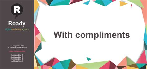 with best compliments card template pageplus x8 gallery