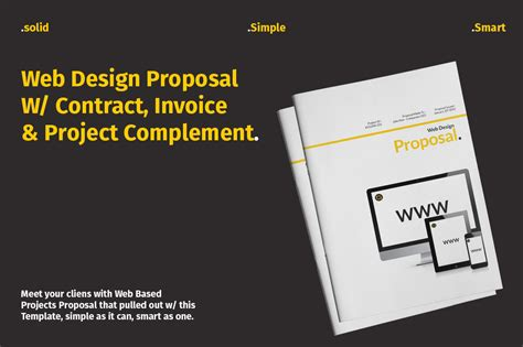 design proposal template psd web design proposal w complement in corporate identity