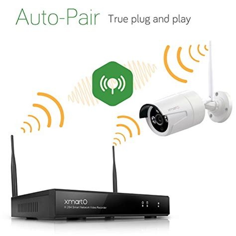 Cctv 8 Channep 960p Wireless auto pair xmarto wos1388 8 channel 960p hd wireless security system with 8 hd wireless