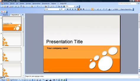 microsoft office powerpoint 2010 templates presentation