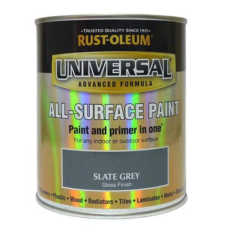 rustoleum universal all surface paint 750ml slate grey grahams diy store