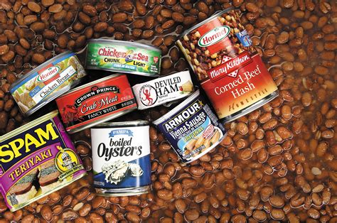 Canned Meats Shelf 8 shelf stable varieties of survival food recoil offgrid