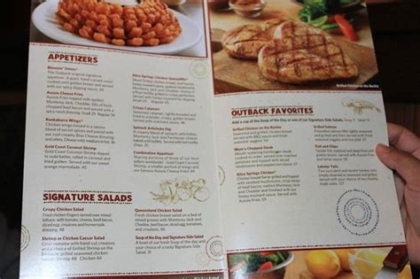 Outback Steak House Menu by Toowoomba Topped Filet For 119dhs Picture Of Outback
