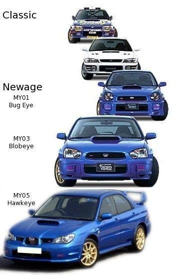 subaru nicknames your wrx generations and nicknames subaru s